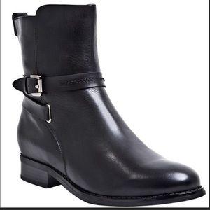 Blondo Zena Black Leather Waterproof Ankle Booties size 6M